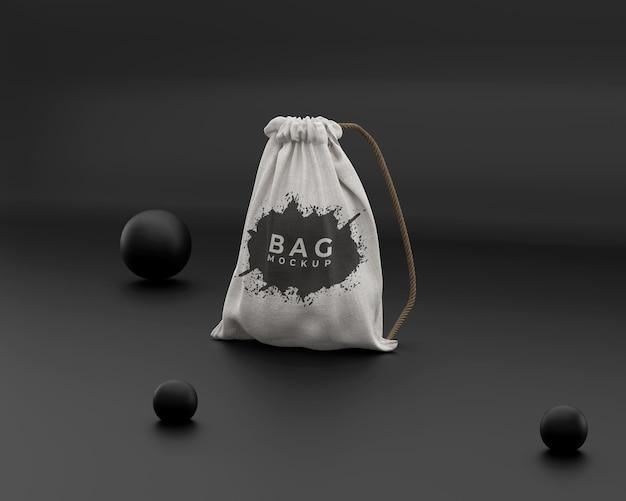 Maquete de bolsa simples