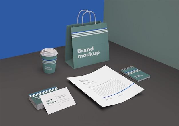 Maquete de branding