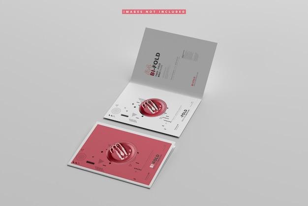 Maquete de brochura a4 dupla