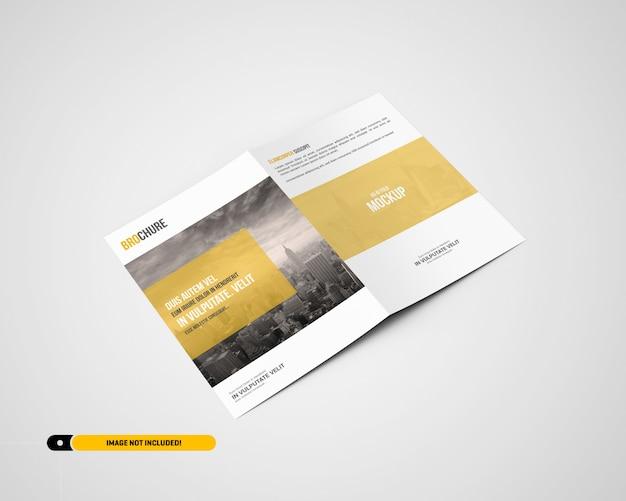 Maquete de brochura a5 / a5 bifold