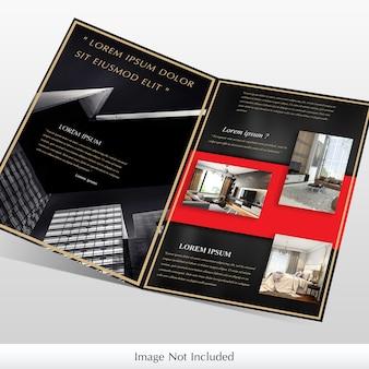 Maquete de brochura de empresa