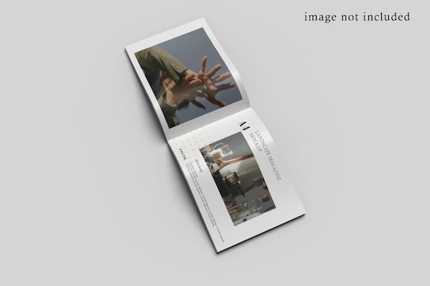Maquete de brochura de paisagem
