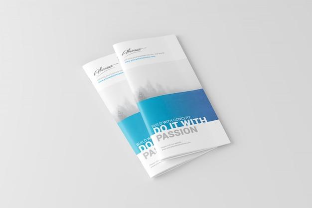 Maquete de brochura dl