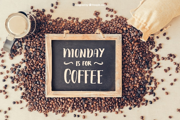 Maquete de café