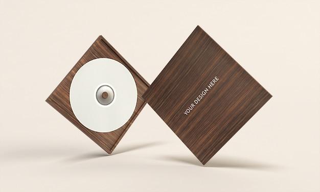Maquete de caixa de cd