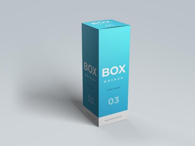 Maquete de caixa