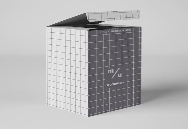 Maquete de caixas de papel
