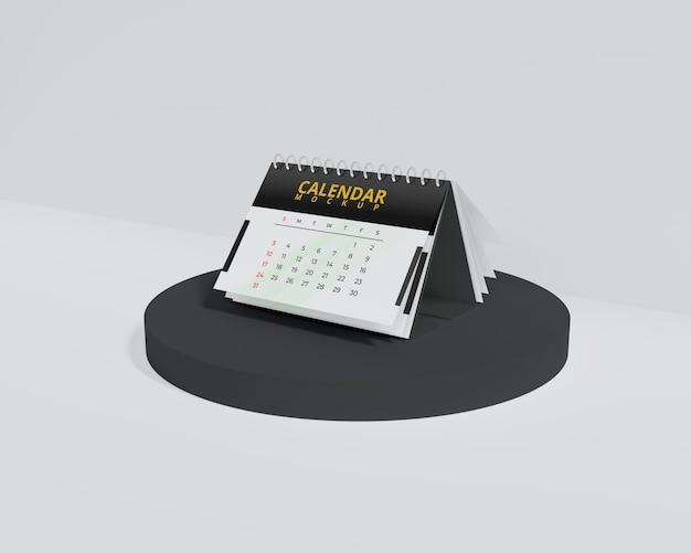 Maquete de calendário simples