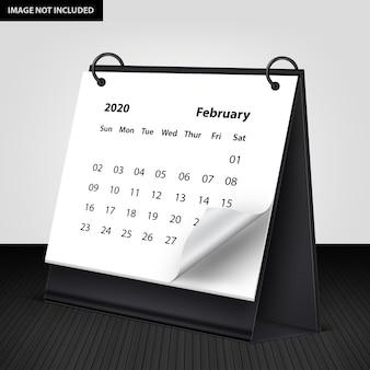 Maquete de calendário