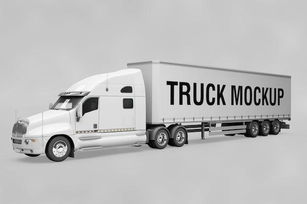 Maquete de caminhão
