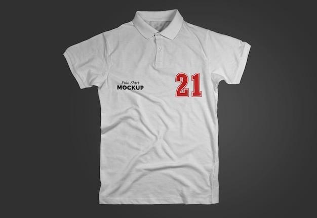 Maquete de camisa polo