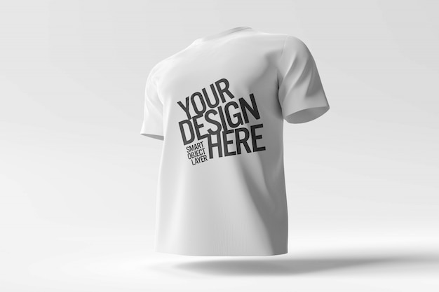 Maquete de camiseta branca