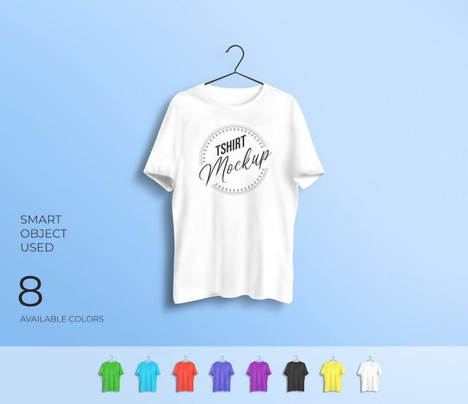 Maquete de camiseta para apresentação do projeto