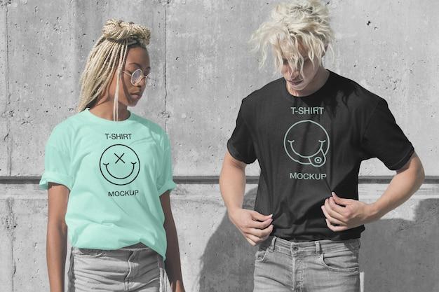 Maquete de camiseta
