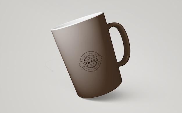 Maquete de caneca de café para merchandising