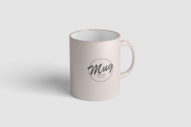 Maquete de caneca de café simples