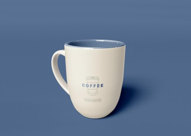Maquete de caneca de café