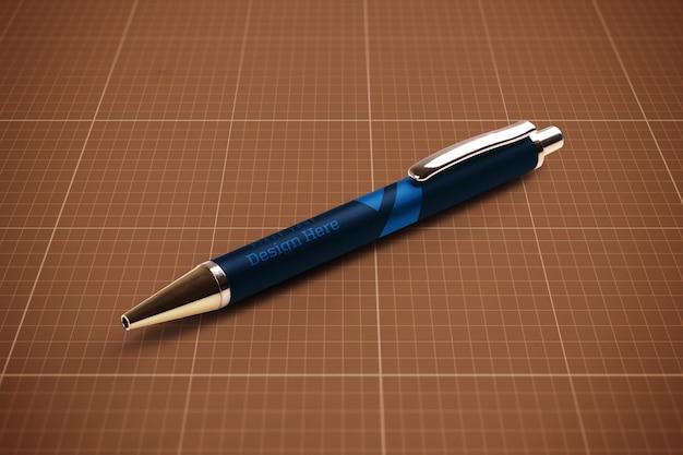 Maquete de caneta