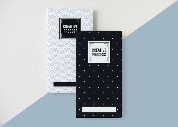 Maquete de capa criativa