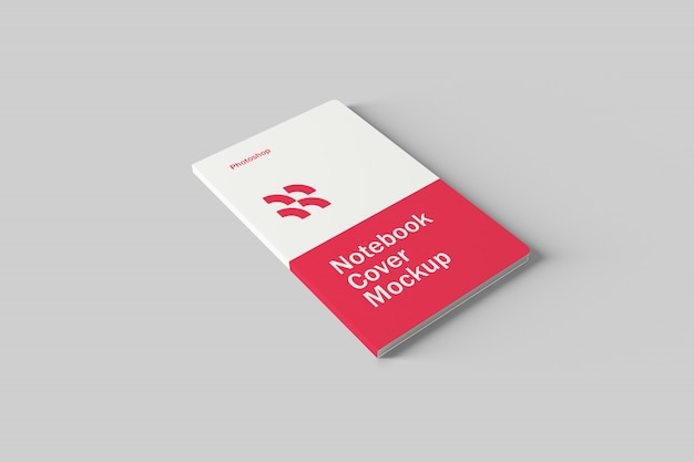 Maquete de capa de caderno