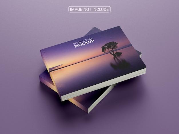 Maquete de capa de catálogo horizontal