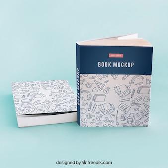 Maquete de capa de livro criativo