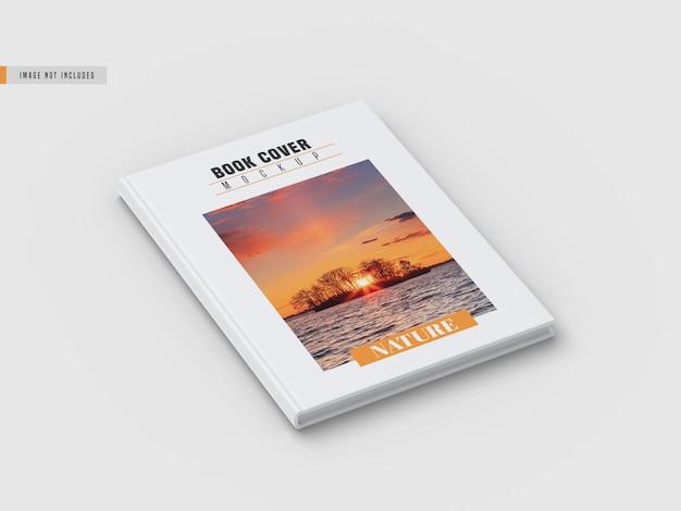 Maquete de capa de livro difícil