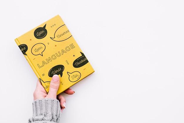 Maquete de capa de livro