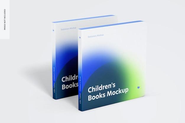 Maquete de capa de livros infantis