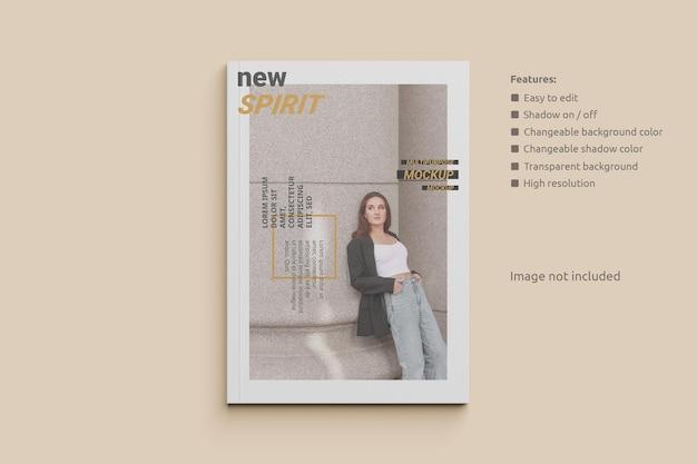 Maquete de capa de revista