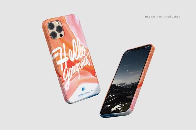 Maquete de capa de telefone linda e incrível