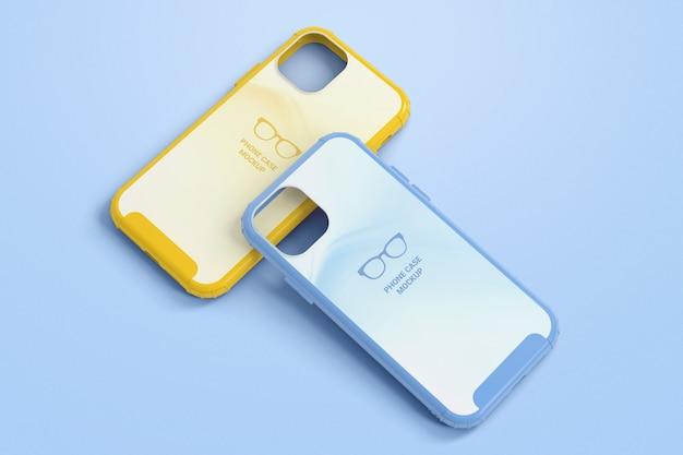 Maquete de capa protetora de smartphone