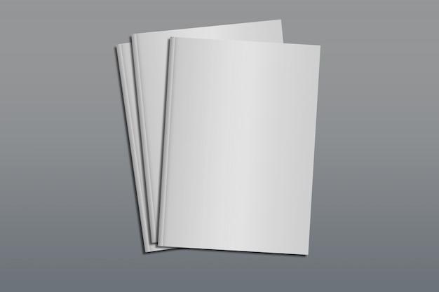 Maquete de capa tamanho a4