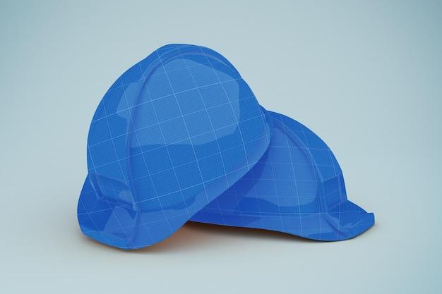 Maquete de capacete