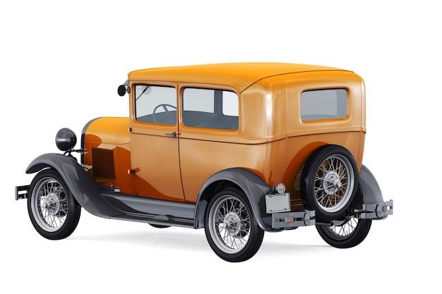 Maquete de carro antigo 1929