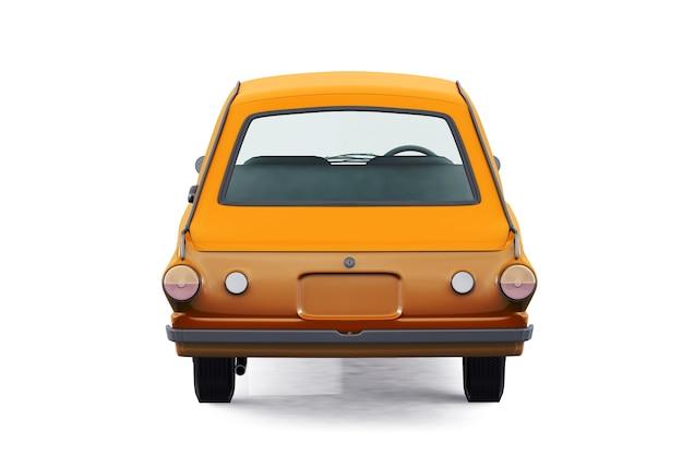 Maquete de carro combi retro wagon 1966