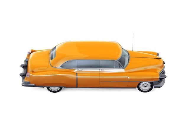 Maquete de carro cupê retrô de 1953