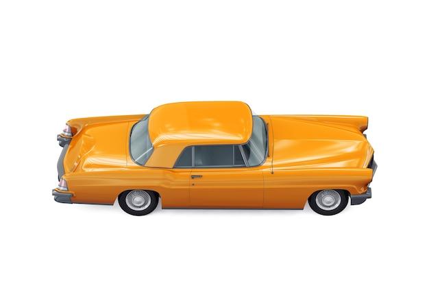 Maquete de carro cupê retrô de 1956