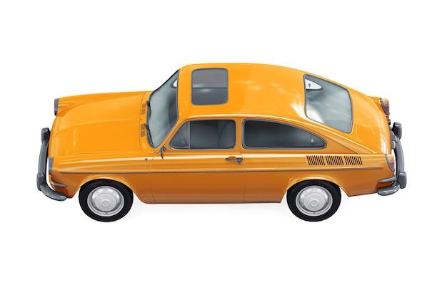 Maquete de carro cupê retrô