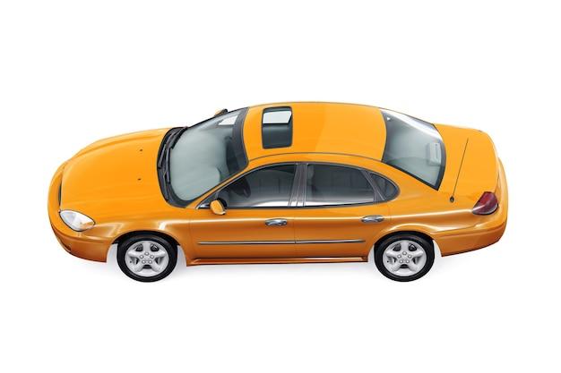Maquete de carro sedan 2000