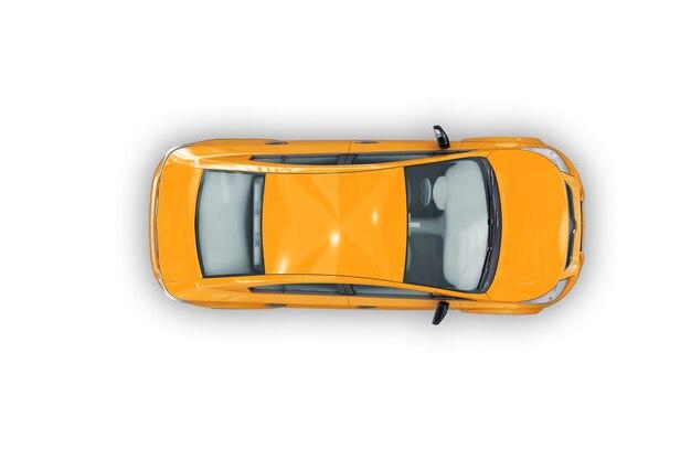 Maquete de carro sedan 2009