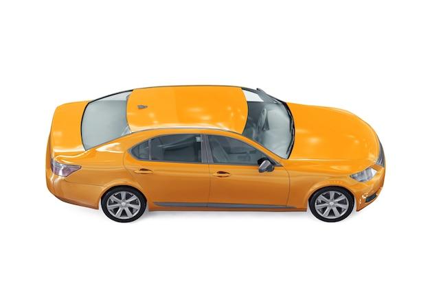 Maquete de carro sedan