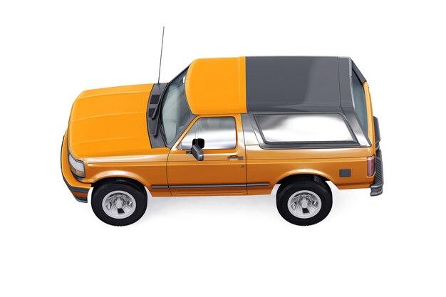 Maquete de carro suv 4x4