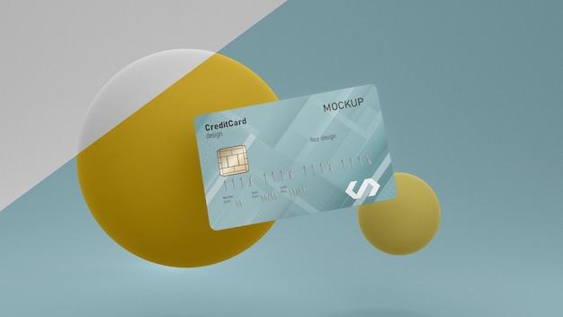 Maquete de cartão de crédito