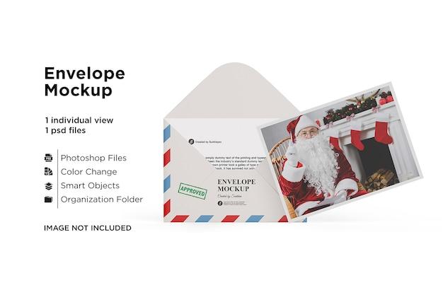 Maquete de cartão de natal