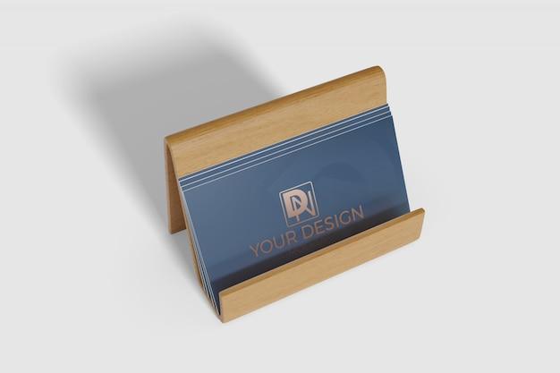 Maquete de cartão de visita 2 Psd Premium