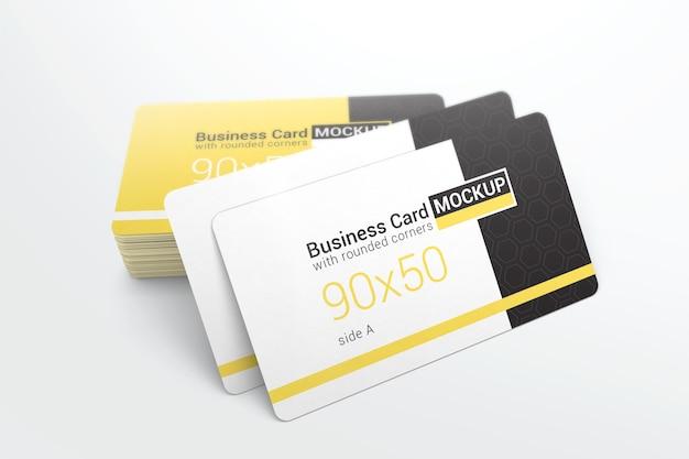 Maquete de cartão de visita criativa