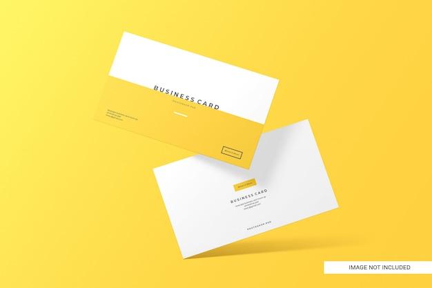 Maquete de cartão de visita criativo