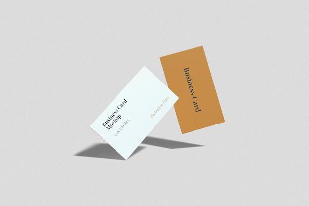 Maquete de cartão de visita dois voadores