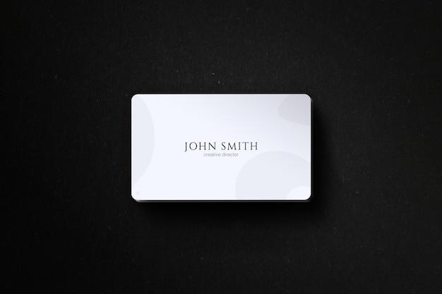 Maquete de cartão de visita minimalista Psd Premium